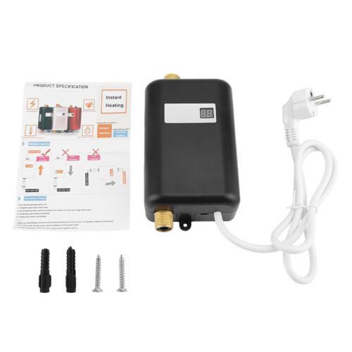 110V//220V Tankless Instant Electric Hot Water Heater Kitchen Bathroom Shower SP