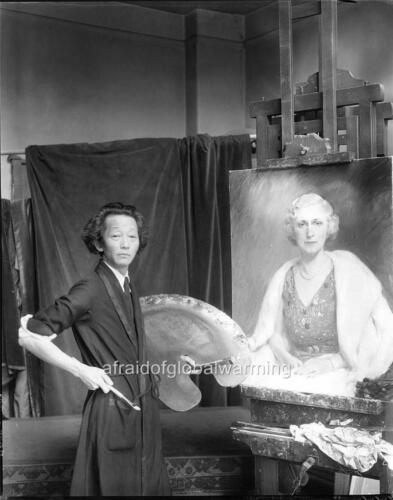 Artist Old Photo Kyohei Inukai Painter