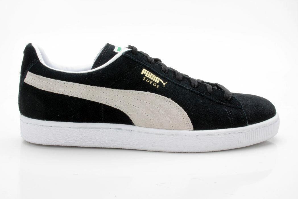 Puma Suede Classic + 352634 03 noir et blanc
