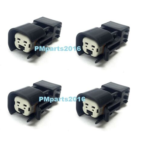 to OBD2 female male 4 USCar // EV6 EV14 injector plug adapters Honda Acura