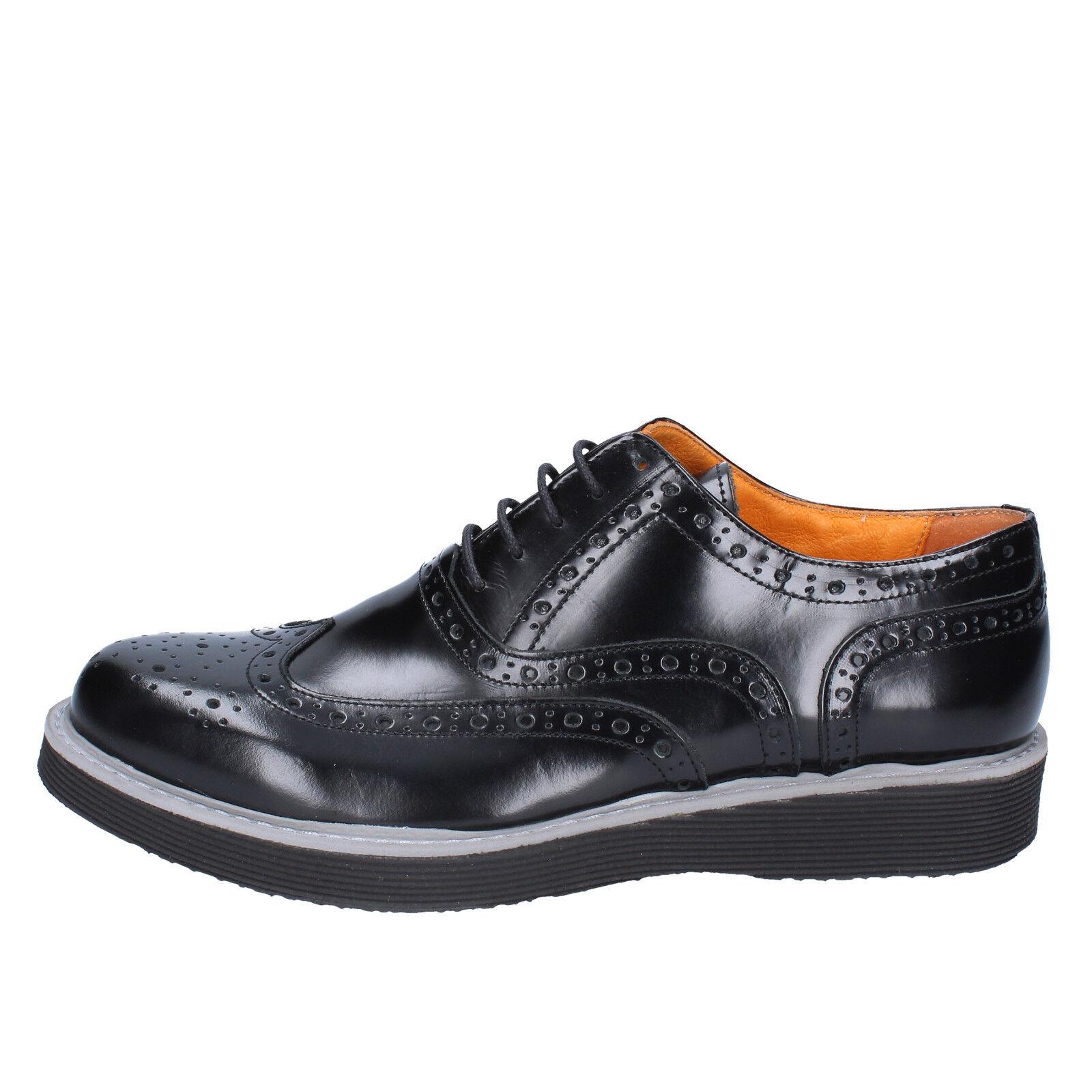 scarpe uomo J. BREITLIN 42 BX224-42 EU elegante nero pelle BX224-42 42 eaf27e