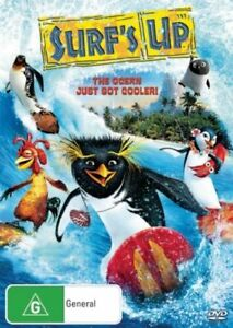 Surf-039-s-Up-The-Ocean-Just-Got-Cooler-DVD-Region-4-New-and-Sealed