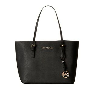 64ad60d7f843 NWT Michael Kors Jet Set Travel Saffiano Leather Small Tote Bag ...