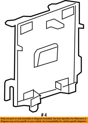 GM OEM Ignition-Mount Bracket 25944026