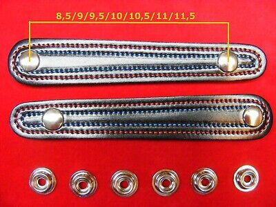 2 Stück Für Balgzughalter Von 8 Bis 11,5cm Balgriemen/accordion Bellows Straps.! Up-To-Date-Styling