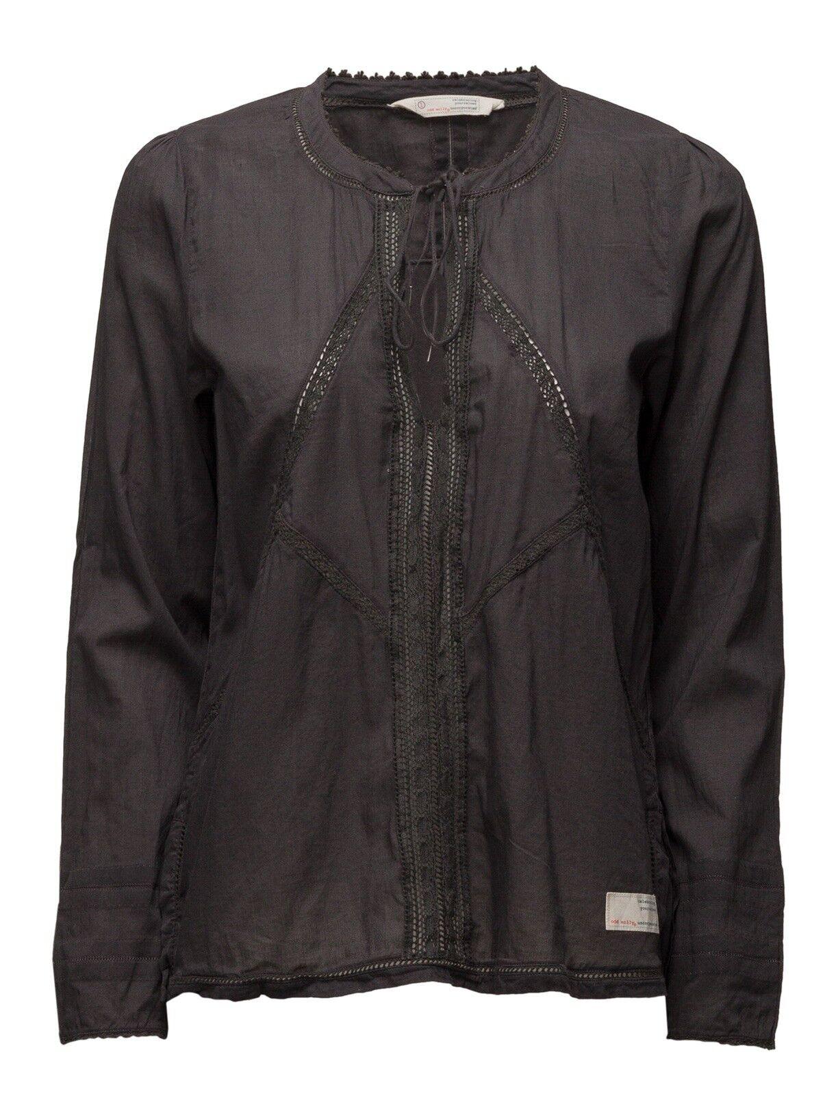 ODD MOLLY  Blause Tunika Boho  daylight blouse Asphalt Grau 117M-151  Gr. 2 38