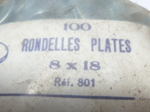 rondelles  M8 x 18 mm multi usage sachet de 100 deco-savoy emile ferry vintage