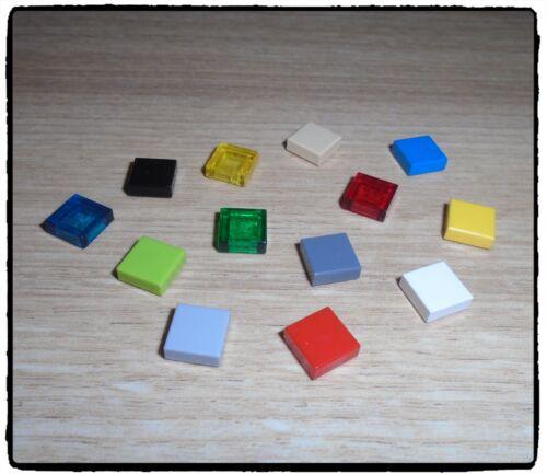 Azulejo de LEGO 3070b, 1 X 1 con ranura ~ seleccionar color ~ 8 incl.