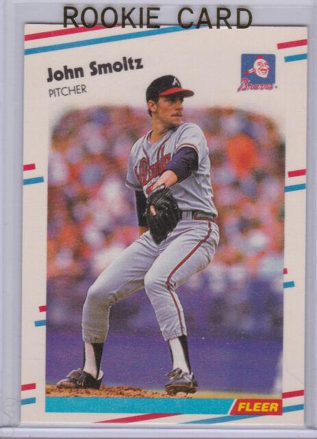 1988 Fleer Update John Smoltz Rookie