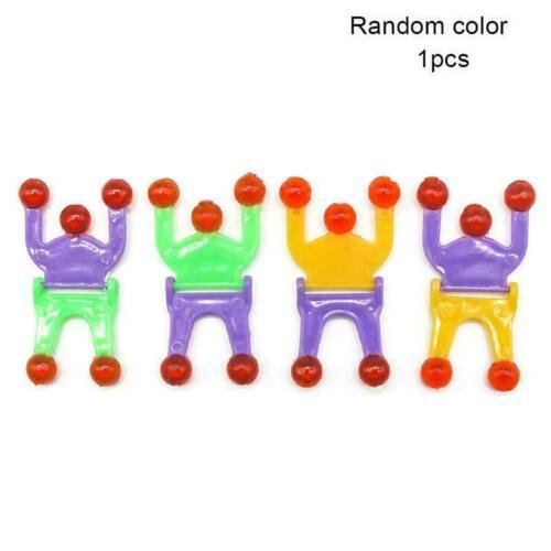 5 PCS Sticky Wall Climbing Flip Rolling Men Climber Toy Spider Kids man New