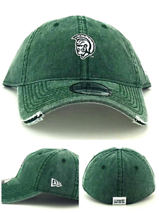 outlet store 4dc3d b769d Image is loading Michigan-State-Spartans-New-Era-29Twenty-Green-Dad-