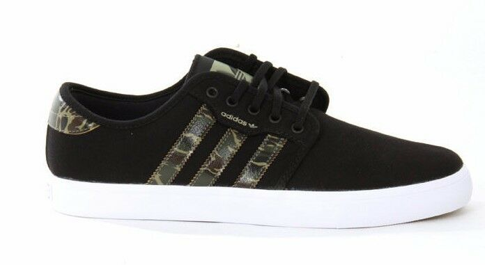 Adidas SEELEY Black Dark Clay Camo G99711 Price reduction Skateboarding Men's Shoes Brand discount
