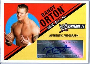 WWE-Randy-Orton-2006-Topps-Heritage-II-Authentic-Autograph-Card