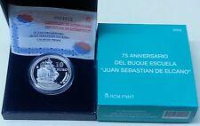 Año 2003. 10 EUROS DE PLATA. ESPAÑA. Homenaje a Juan Sebastián Elcano.