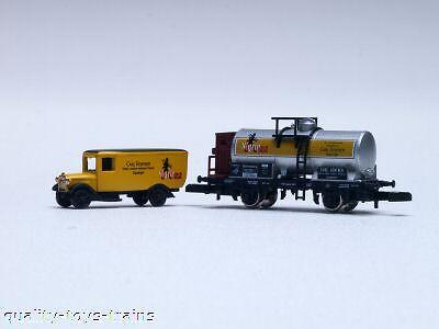 1997 Marklin Z car and truck  Museum wagen Nigrin papa