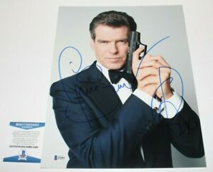 PIERCE-BROSNAN-SIGNED-AUTOGRAPHED-11x14-PHOTO-BECKETT-COA-JAMES-BOND-007-MOVIE
