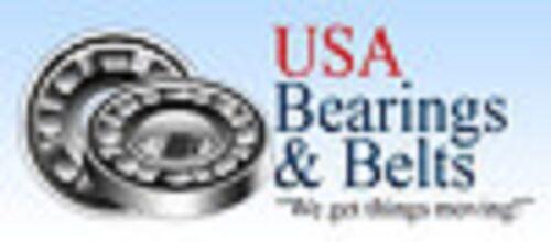 """IB FR8 RS FR8 2RS SEALED FLANGE BEARINGS 1//2/"""" x 1-1//8/"""" USBB QTY 10"""