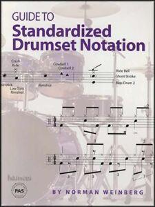 Volontaire Guide To Standard Batterie Notation Tambour Musique Livre Par Norman Weinberg-afficher Le Titre D'origine Bien Vendre Partout Dans Le Monde