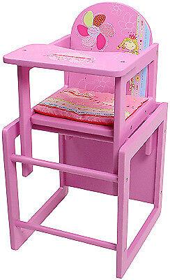 KNORRTOYS Bambole Seggiolone Little Princess rosa