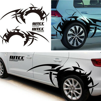 Amazing Headlight Eyebrow Car Stickers Decals Graphic Vinyl For Chevrolet Black