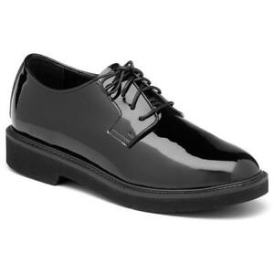 Rocky-Mens-510-8-High-Gloss-Oxford-Shoes-Work-Dress-Professional-NEW-9M