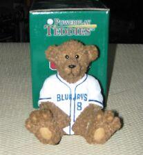 Toronto Blue Jays Teddy Bear MLB Baseball Jersey Collectible Elby Figurine
