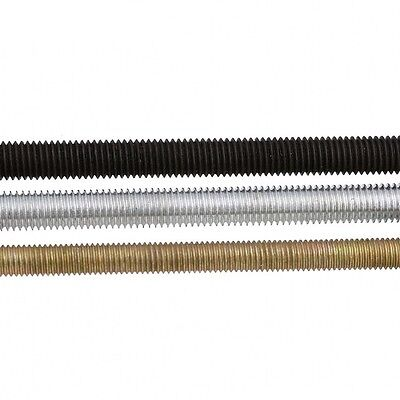 UNF THREADS 300mm Long STEEL PLATED FULLY THREADED ROD //BAR //STUDDING //ALLTHREAD