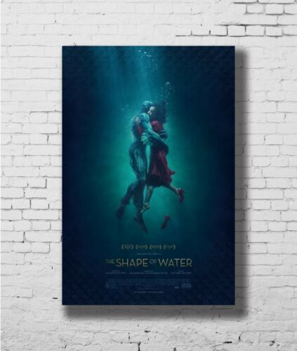 24x36 14x21 40 Poster The Shape Of Water 2017 Movie Art Hot P-4205