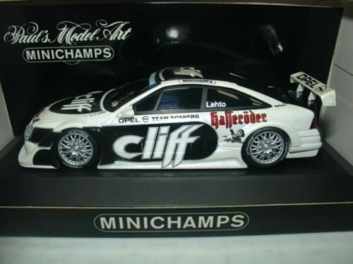 Wow extremadamente raro Opel Calibra V6 1996 # Lehto ITC Präsen 1:43 Minichamps//DTM