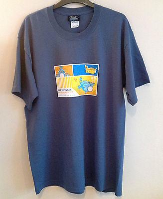 DNA Dive Wear Mens Short Sleeve Submarine Diving T Shirt RRP £19.50 Indigo Blue