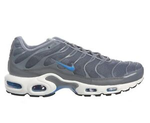 new product 16961 52f34 Details about Nike Air Max Plus SE Mens AJ2013-002 Cool Grey Photo Blue  Running Shoes Size 8