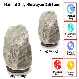 Grey Himalayan Salt Lamp