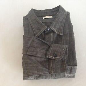 Dockers-Men-039-s-Medium-Black-2-Pocket-Long-Sleeve-Shirt