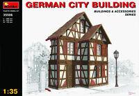World War II German City Building MODEL KIT  MIN35506   Miniart 1:35 Scale