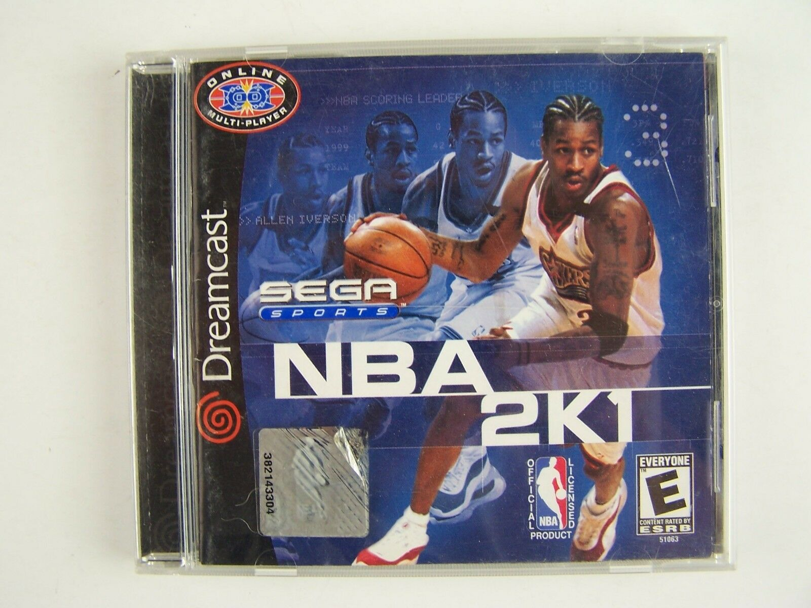 Sega Dreamcast NBA 2K1 Video Game