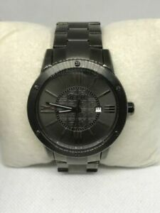 Relic-ZR11998-Mens-Stainless-Steel-Gunmetal-Analog-Dial-Quartz-Wrist-Watch-Ff60