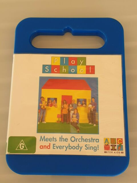 Play School - Meets The Orchestra and Everybody Sing! DVD