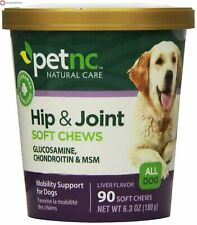PetNC Natural Care Hip and Joint Soft Chews for Dogs - 90 Count