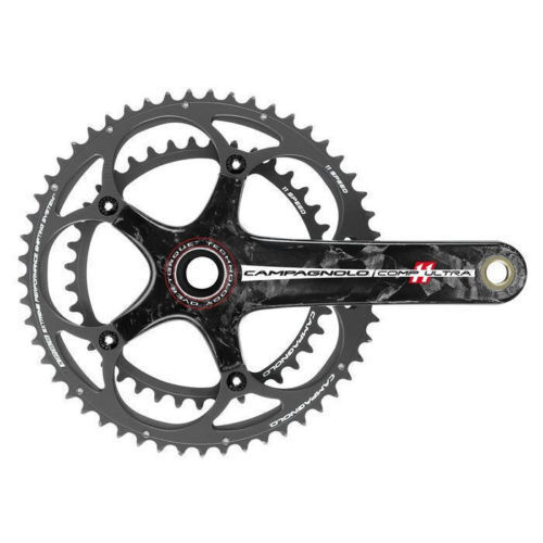 Campagnolo Ultra su Comp Torque pedaliera in carbonio 11 velocità 175mm 53X39 RRP