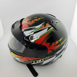 HJC-Full-Face-Motorcycle-Helmet-CL-11-Large-Snell-Dot-Great-Condition-XL