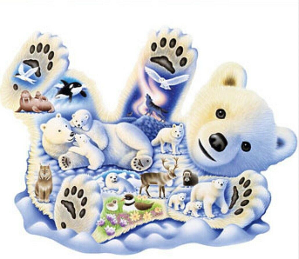 750 piece animal puzzle