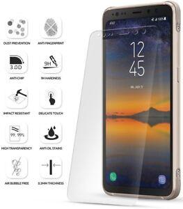 Para-Samsung-Galaxy-S8-Active-poetica-HD-claro-Protector-de-Pantalla-de-Vidrio-Templado