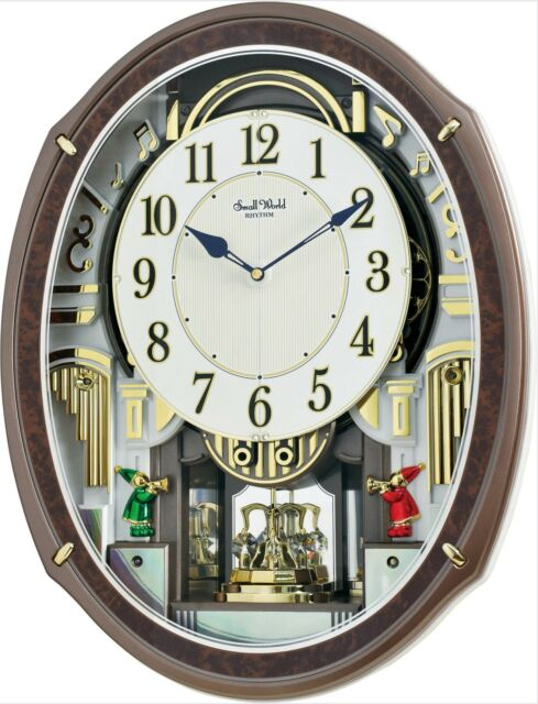 30 wall clock farmhouse rhythm musical wall clock harmony blessing with 30 melodies 4mh423wr23