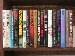 Lot-of-18-Miscellaneous-MYSTERY-NOVELS-All-First-Editions-Printings