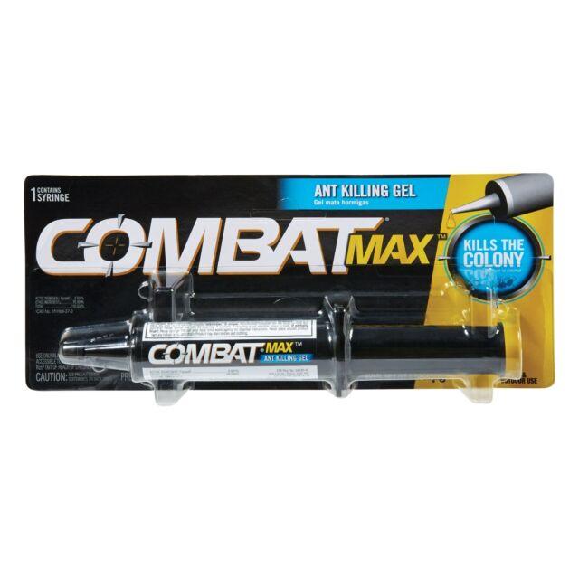Combat MAX Indoor/Outdoor Ant Killing Gel 1oz. syringe