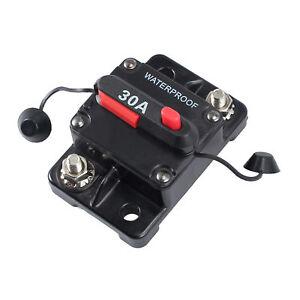 30A-AMP-Circuit-Breaker-Dual-Battery-Manual-Reset-IP67-W-proof-12V-24-Volt-Fuse