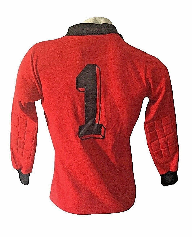 Maglia calcio goalkeeper erima geruomoy trikot footbtutti shirt jersey vintage 1980