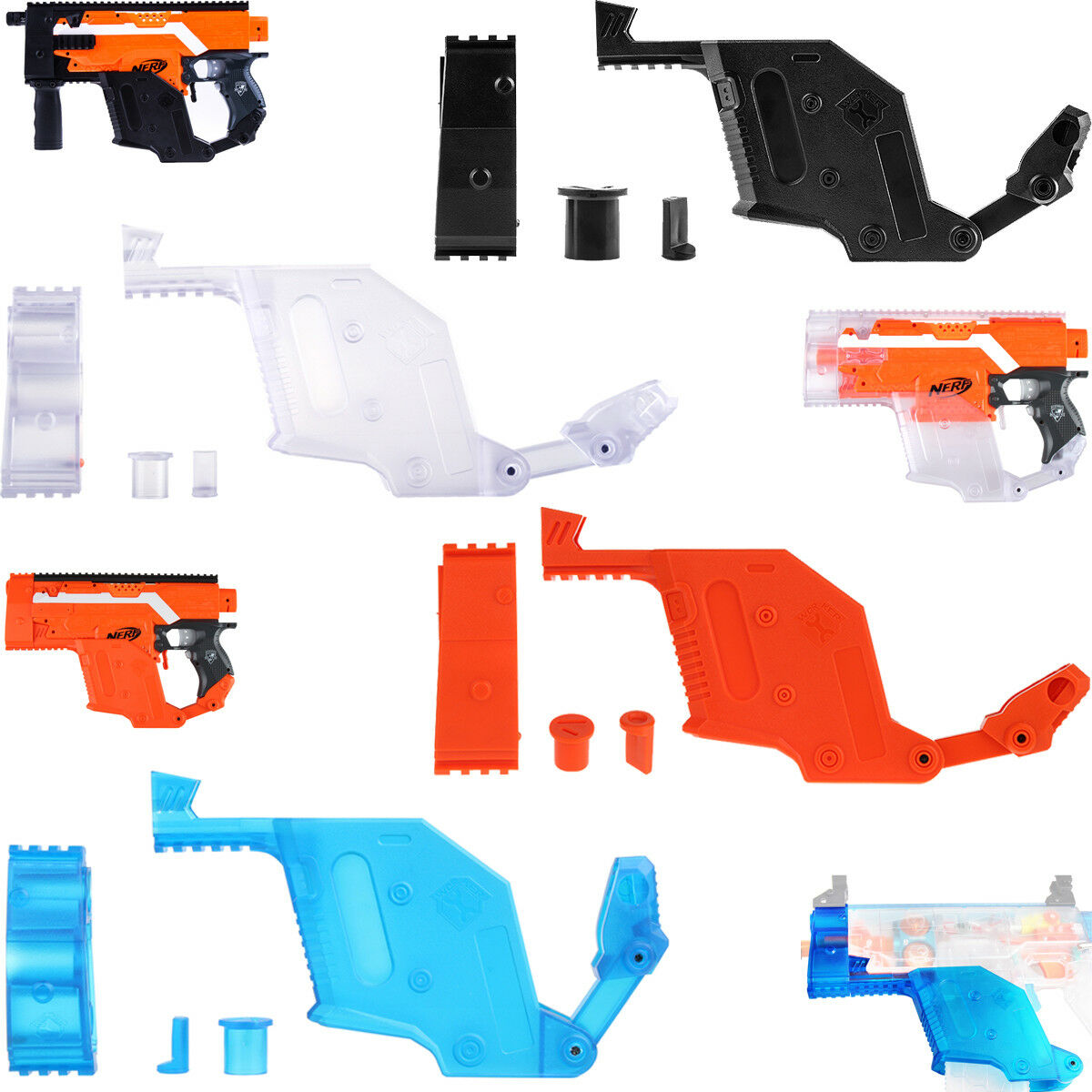 Worker Mod Kits Kriss Vector Body Cover for Nerf Stryfe Modify Toy