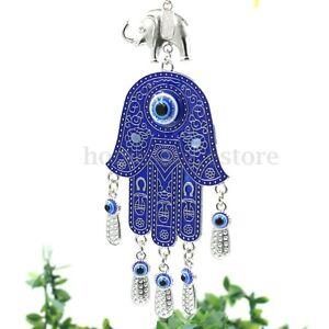 Image Is Loading Turkish Blue Evil Eye Hamsa Hand Amulet Cars