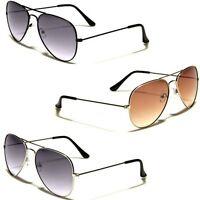 Air Force Gradient Lens Vintage 80s Retro Aviator Sunglasses Mens Womens Glasses